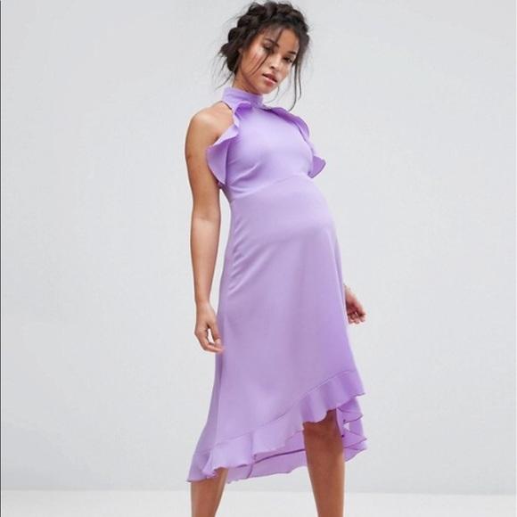 Asos Queen Bee Maternity Dress Us Size 6